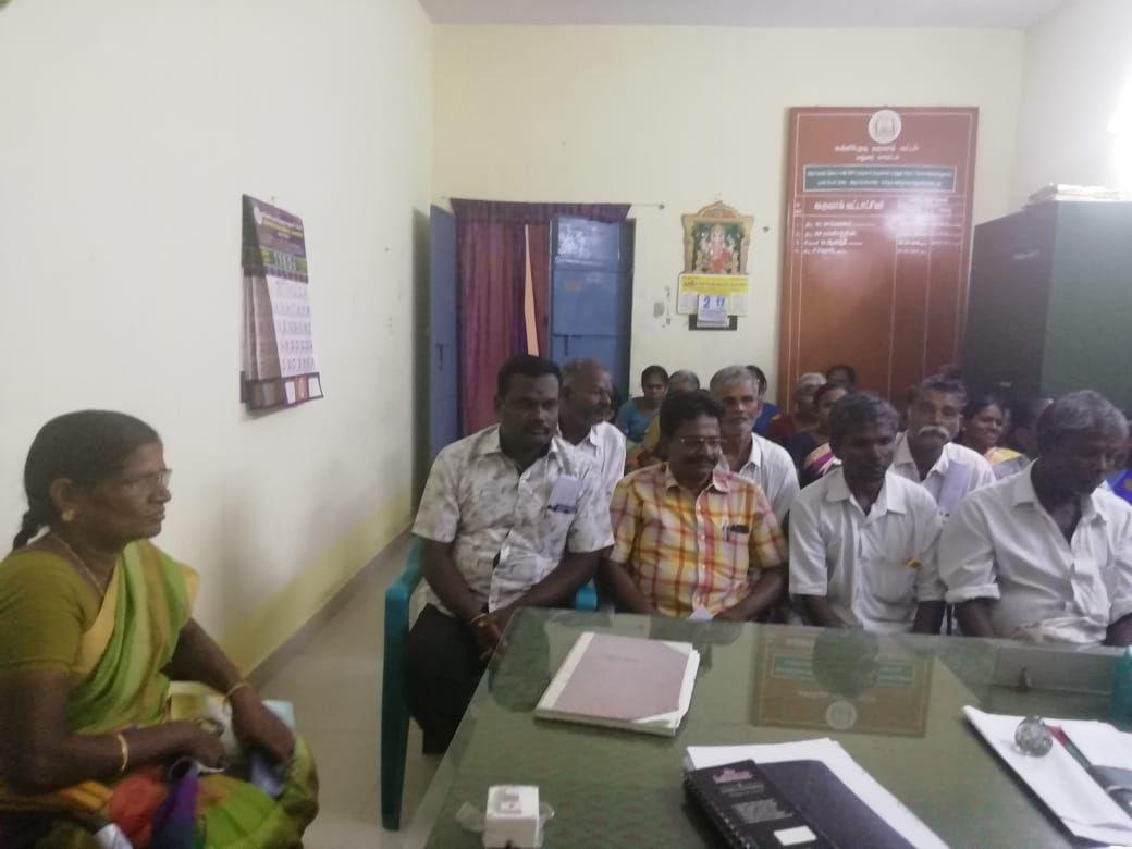 BLO and Supervisor Meeting in Kallikudi taluk, Thirumangalam Assembly Constituency,Madurai