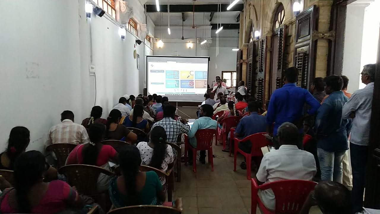 EVP TRAINING - PUDUKKOTTAI DISTRICT