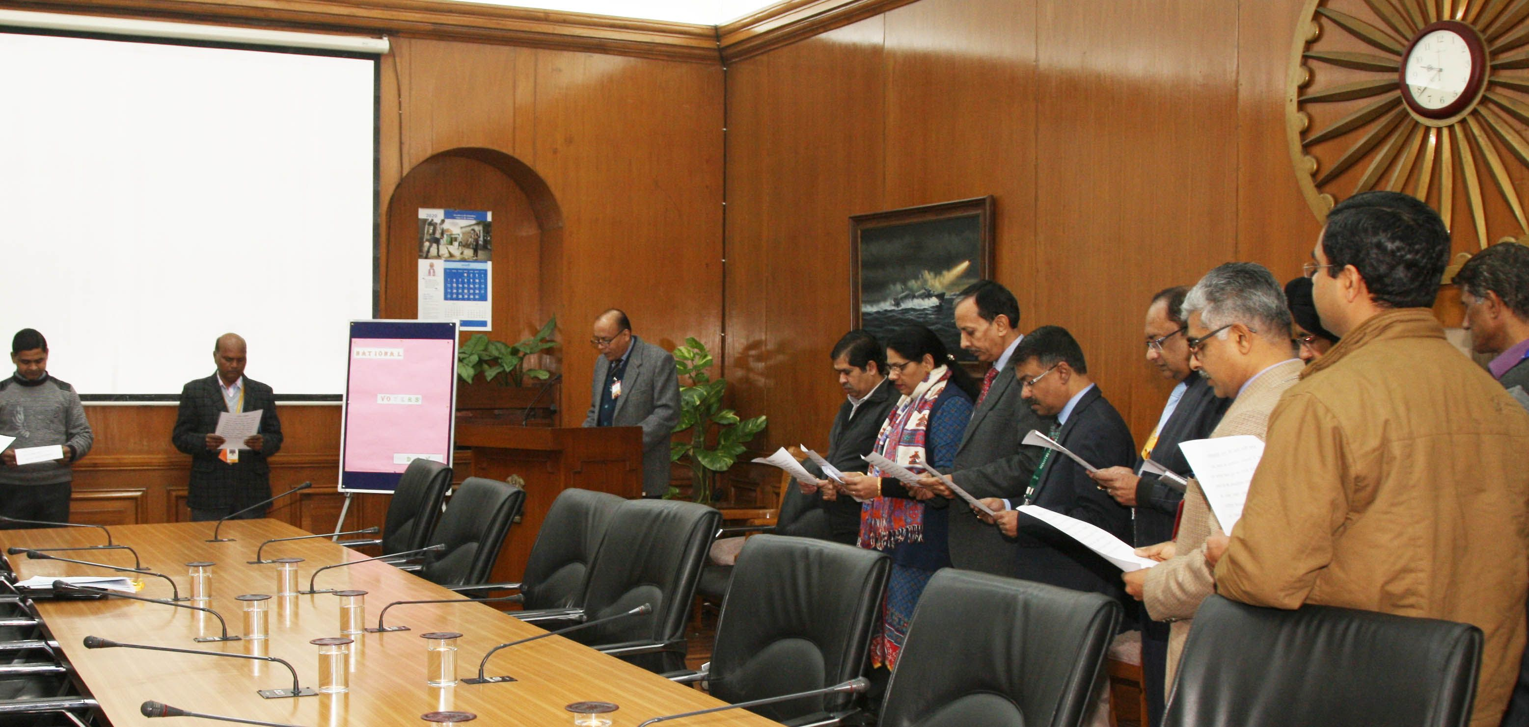 NVD Pledge by MOD officers  & Staff-2.JPG