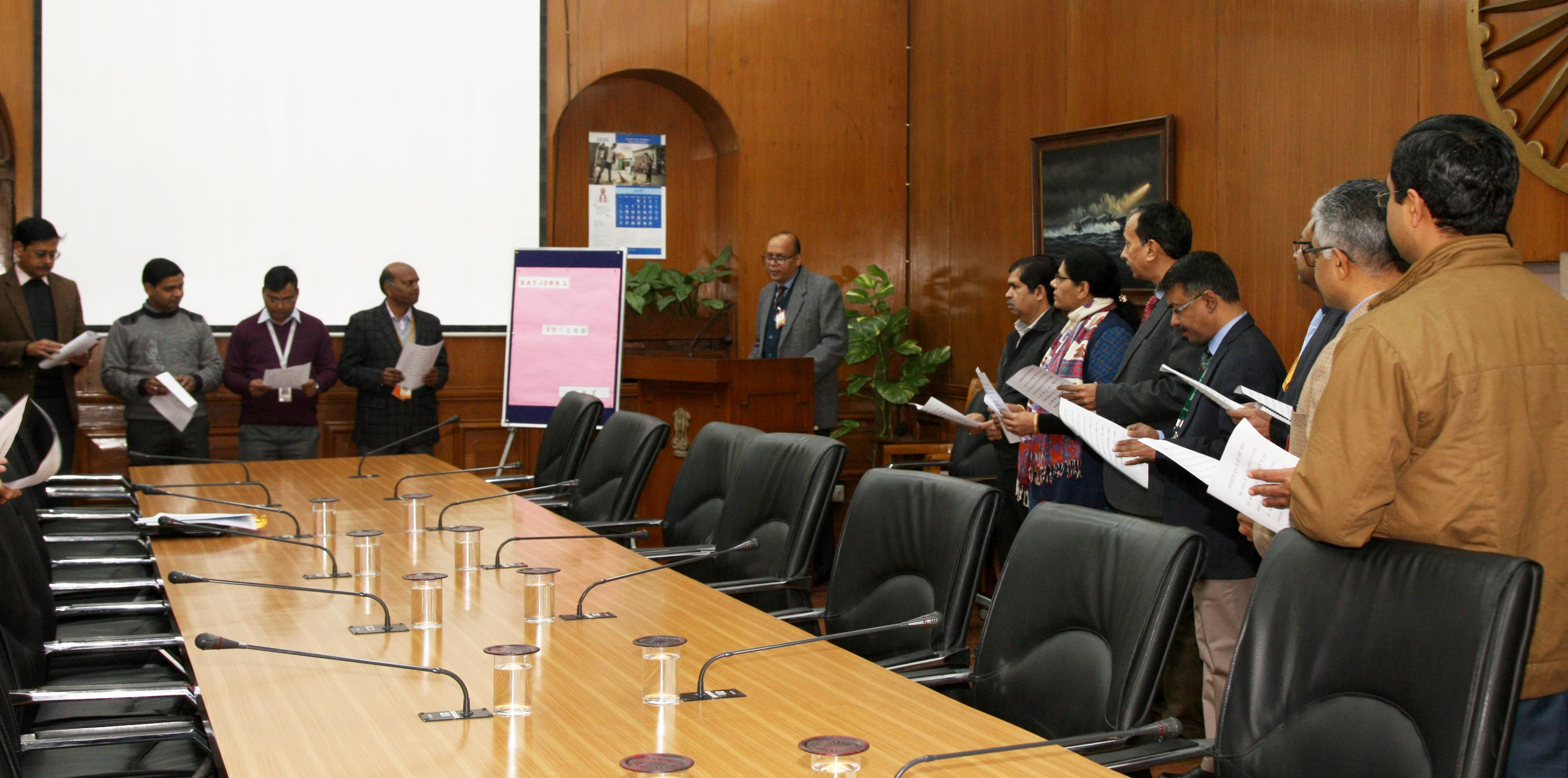 NVD Pledge by MOD officers  & Staff-3.JPG