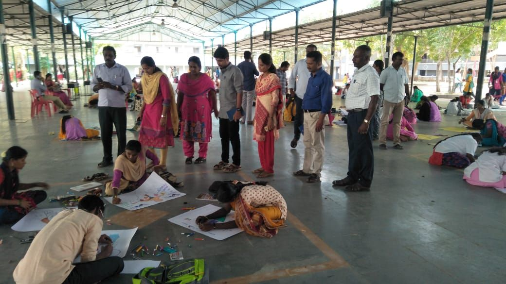 NVD 2020_College Students DRAWING COMPETITION_ TIRUVANNAMALAI DISTRICT