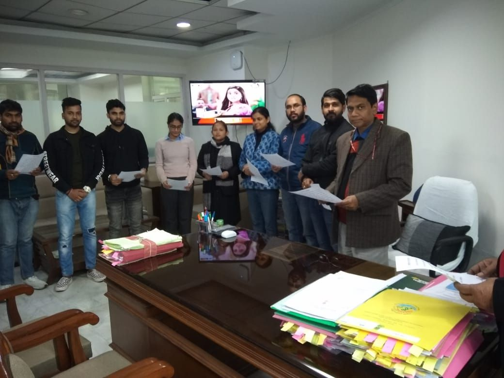National Voter's Day Pledge in Ministry of Environment, Forest & Climate Change