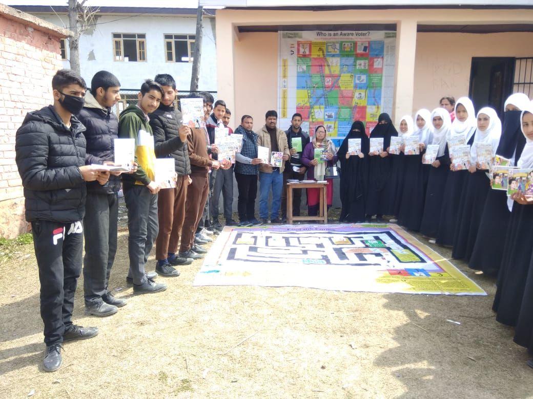 ELECTORAL LITERACY CLUB DISTRICT SRINAGAR 2020
