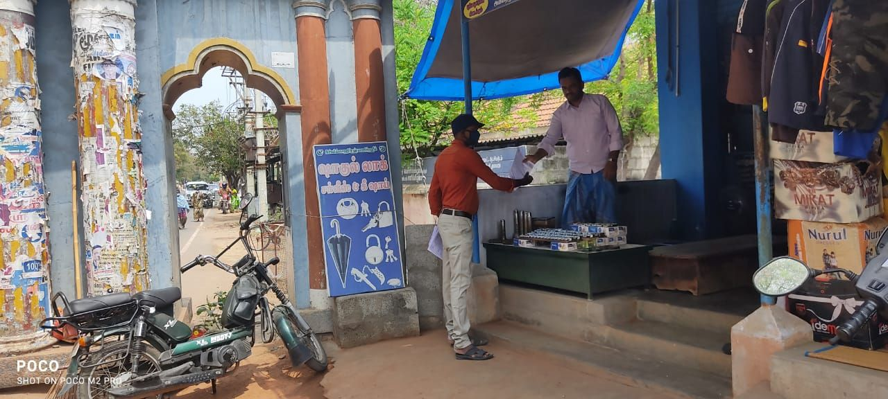 TNLA2021 - 95 Paramathi Velur - Issuing of awareness notice in less polling areas - Velur Town Panchayat - On 25.03.2021 (7).jpeg