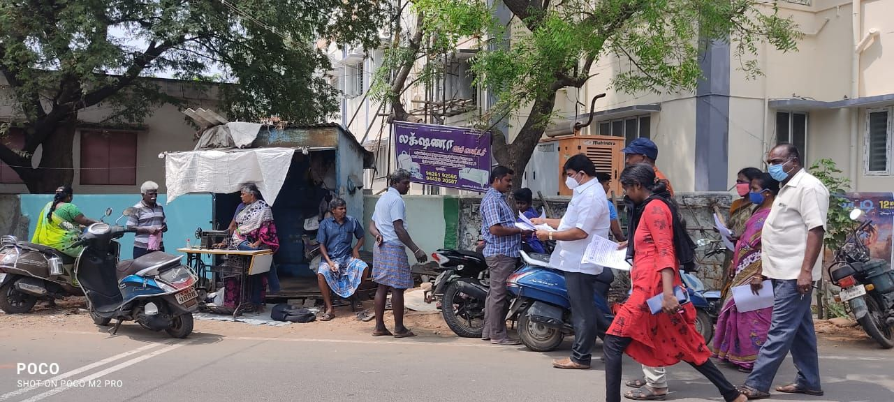 TNLA2021 - 95 Paramathi Velur - Issuing of awareness notice in less polling areas - Velur Town Panchayat - On 25.03.2021 (4).jpeg