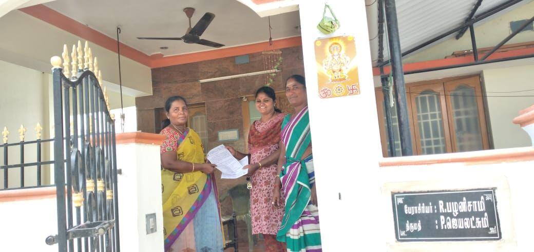 TNLA2021 - 94 Namakkal - Voters Awareness Programme - Vagurampatti Panchayat - 27.03.2021 (3).jpeg