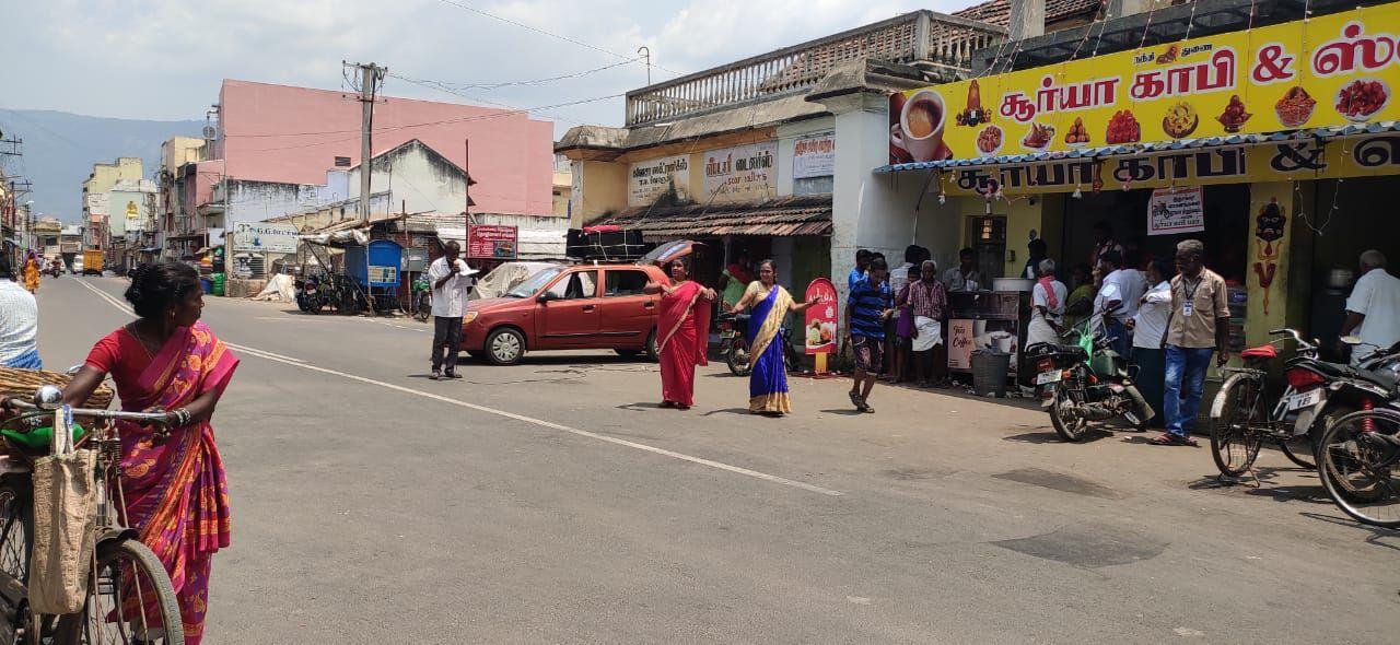 TNLA2021 93 Sendamangalam Voters Awareness Programme on 29.03.2021