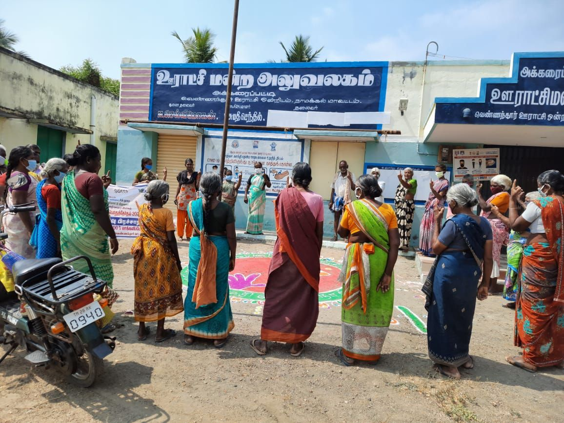 TNLA2021 - 92 Rasipuram - Voters Awareness Programme - Akkaraipatti Panchayat - 27.03.2021 (1).jpeg