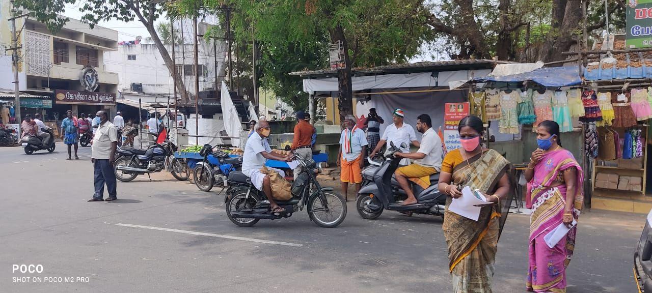 TNLA2021 - 95 Paramathi Velur - Issuing of awareness notice in less polling areas - Velur Town Panchayat - On 25.03.2021 (9).jpeg