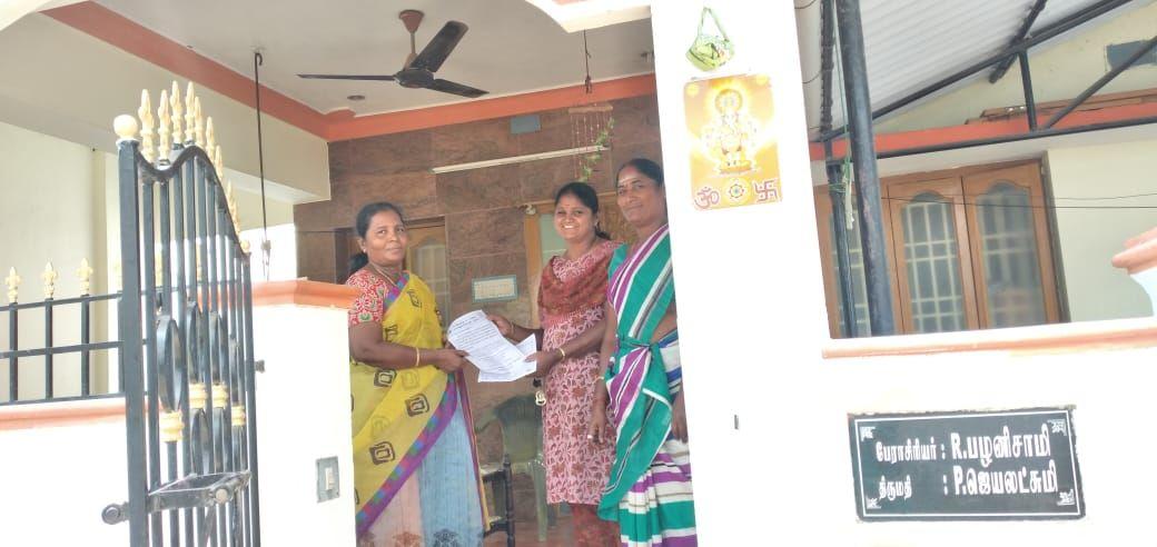 TNLA2021 - 94 Namakkal - Voters Awareness Programme - Vagurampatti Panchayat - 27.03.2021 (1).jpeg