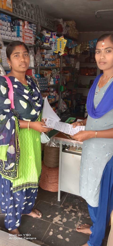 TNLA2021 - 93 Sendamangalam - Issuing of awareness notice in less polling areas - Erumapatti Town Panchayat - On 25.03.2021 (4).jpeg