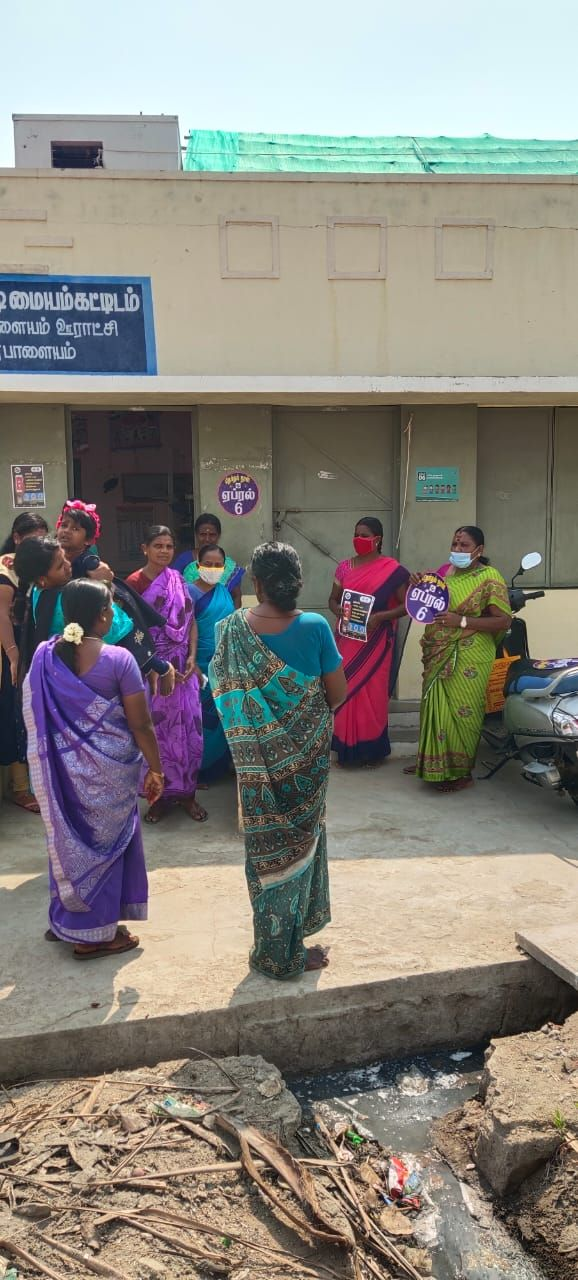 TNLA2021 - 94 Namakkal - Voters Awareness Programme - Notice issued - Namakkal Block - On 01.04.2021 (2).jpeg