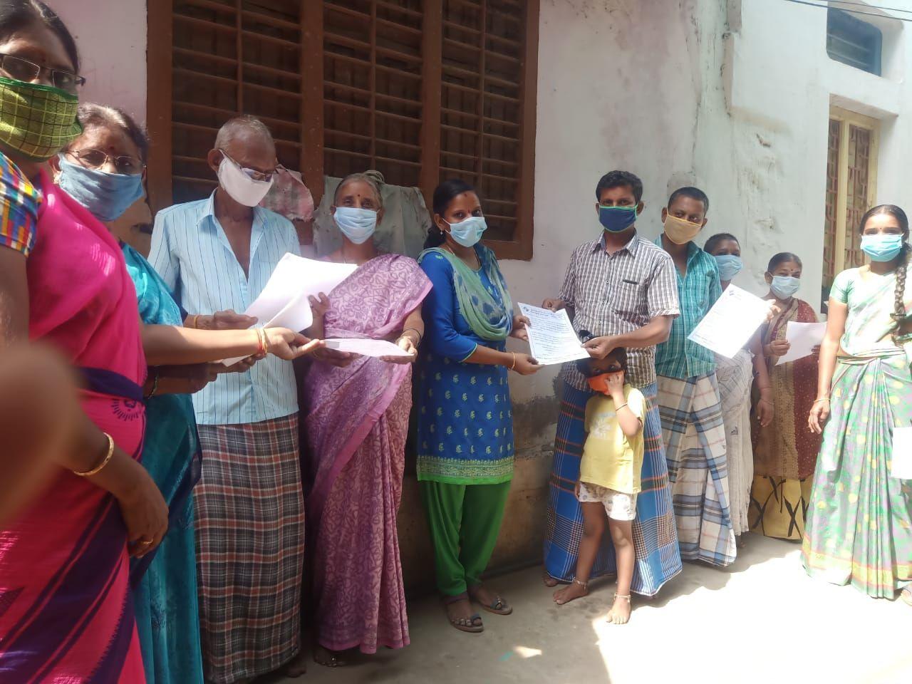 TNLA2021 - 97 Kumarapalayam - Voters Awareness Programme - Notice issued - Pallipalayam Block - On 01.04.2021